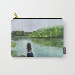 girl and nature Carry-All Pouch