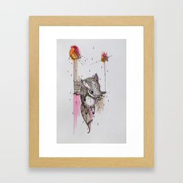 FROM A DREAM TO ANOTHER Framed Art Print