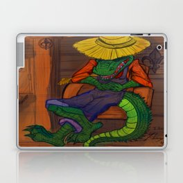 The Cajun Gator (Flat Color Version) by: Henry Wardsworth aka Concepts_By_Henry Laptop & iPad Skin