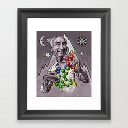 Dr Albert Hoffman Framed Art Print