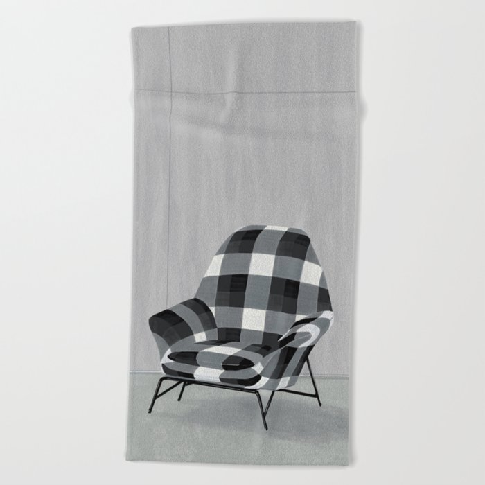 Buffalo Chair Beach Towel