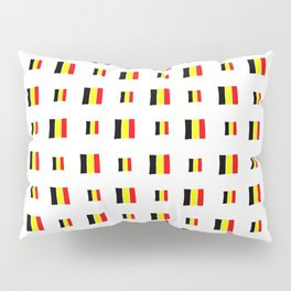 Flag of belgium 8 handmade Pillow Sham