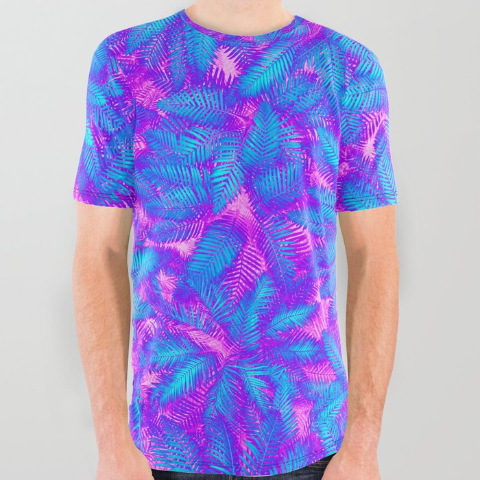 Jungle Heat All Over Graphic Tee