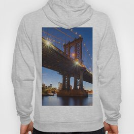 Manhattan Bridge Light night Hoody