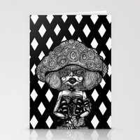 mushroom Stationery Cards featuring Mushroom by AKIKO