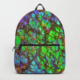 Peacock Ammolite Backpack