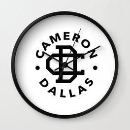 Cameron Dallas Wall Clock