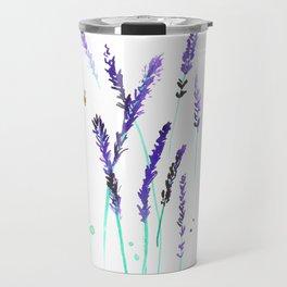 Lavender & Bees Travel Mug