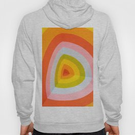 Rainbow Abstract Art Hoody