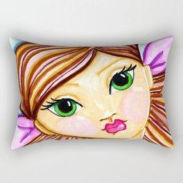 """""""buttons"""" by Dani Choate Rectangular Pillow"""