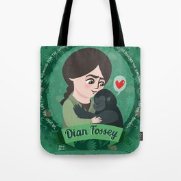 Women in science | Dian Fossey Tote Bag