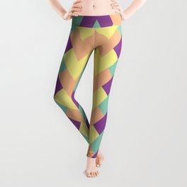 Zig Zag Design Leggings