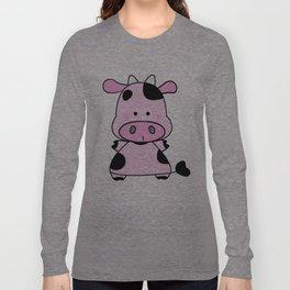 Lady Moo Moo Long Sleeve T-shirt