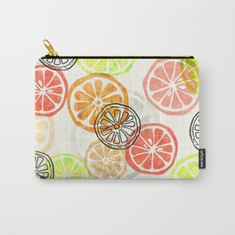 Lemon Slices Carry-All Pouch