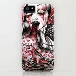 Luce And Unicorn iPhone Case