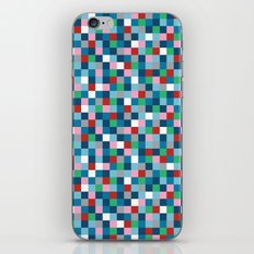 Colour Block Mini #4 iPhone & iPod Skin