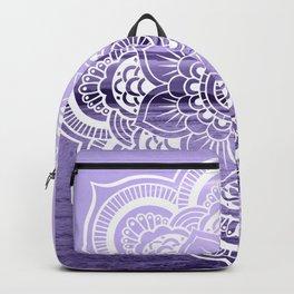 Water Mandala Lavender Backpack