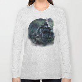 The Haunted House Long Sleeve T-shirt