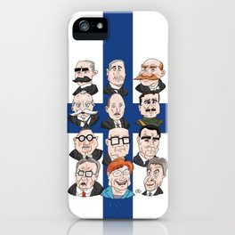 Presidents of Finland iPhone Case