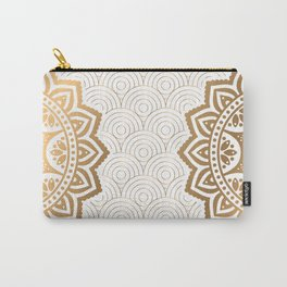 Gold Mandala 13 Carry-All Pouch