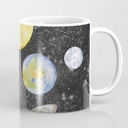 Watercolor Planets Coffee Mug