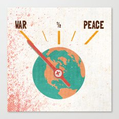 Low On Peace Canvas Print
