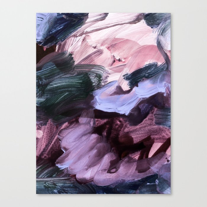 abstract painting VII Canvas Print