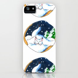 Frosty Fort iPhone Case