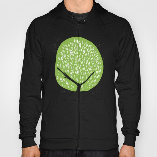 Tree of life - pea green Hoody