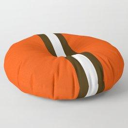 Cleveland Team Colors Floor Pillow