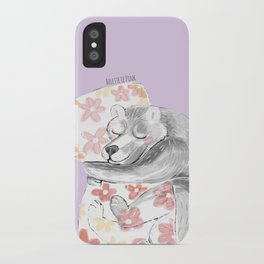 Would you be my sleepy bear? #3 iPhone Case