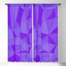 Abstracte Violet Pattern Blackout Curtain