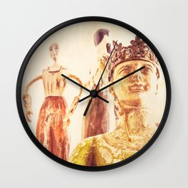 King and Subjects Wall Clock