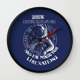 Magic Astronaut Wall Clock