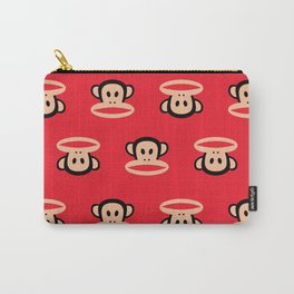Julius Monkey Pattern by Paul Frank - Red Carry-All Pouch