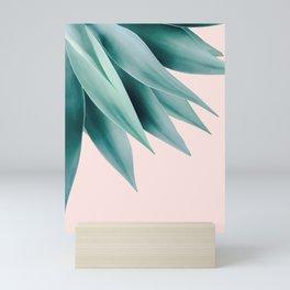 Agave flare Mini Art Print