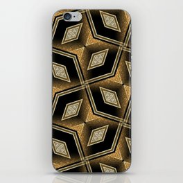 Earthman | Geometric Diamonds iPhone Skin