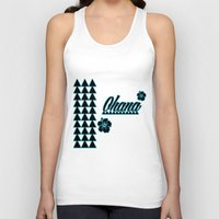 ohana Tank Tops featuring My Ohana by Lonica Photography & Poly Designs