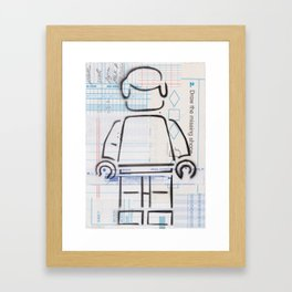 Multiple Choice - Lost & Found Series Framed Art Print