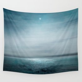 Sea Under Moonlight Wall Tapestry