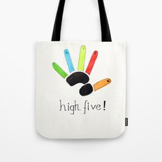 High Five! Tote Bag