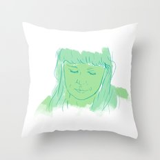 Alessi's Ark, another portrait I made, for purchasing here Throw Pillow