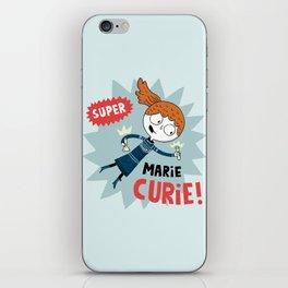 Super Marie Curie iPhone Skin