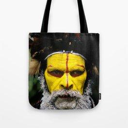 Papua New Guinea: Huli Wigman Tote Bag
