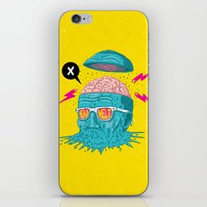 Head Melt iPhone & iPod Skin