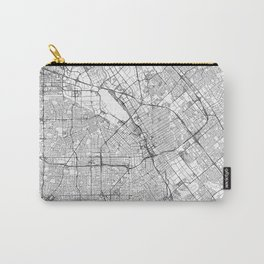 San Jose Map Line Carry-All Pouch