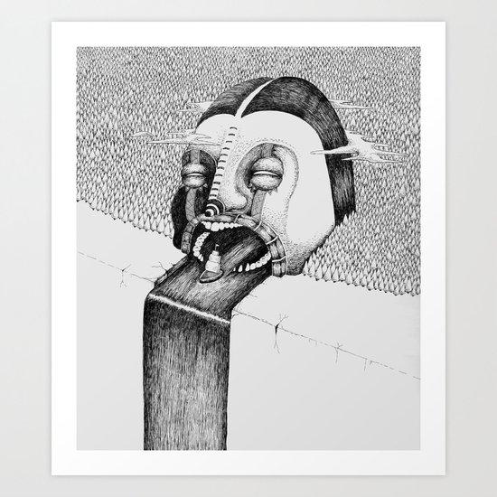 'Fall' Art Print