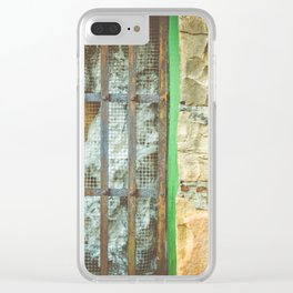 station house, grate Clear iPhone Case