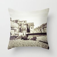 antique Throw Pillows featuring [Antique] by Mathias Rat
