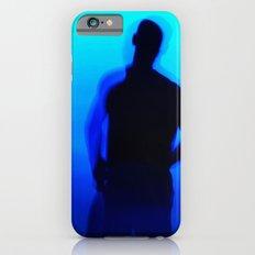 Blue Silhouette iPhone 6 Slim Case